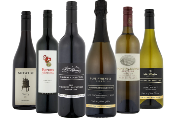 The Wine Collective Premium Sampler Six Pack