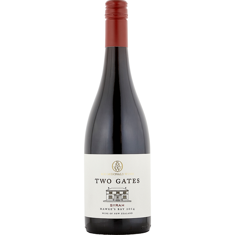 2014 Rod McDonald Wines Two Gates Syrah