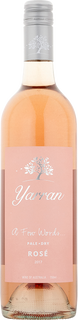 2017 Yarran A Few Words Pale Dry Rose
