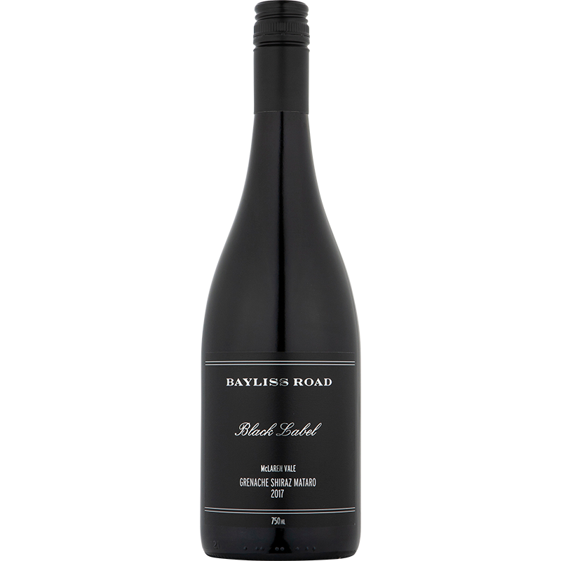 2017 Bayliss Road Black Label McLaren Vale Grenache Shiraz Mataro