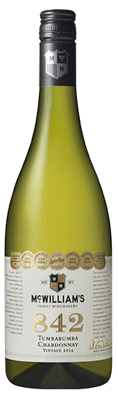 2014 McWilliam's 842 Tumbarumba Chardonnay