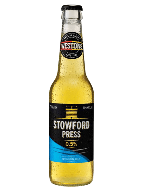 Westons Stowford Press Low Alcohol Cider (24x330ml)
