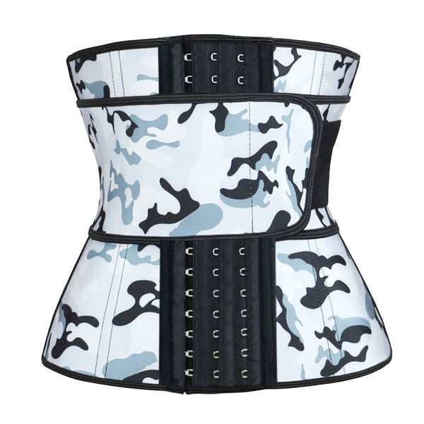 Hooks Camouflage Latex Waist Trainer 3XS-6XL MH1766
