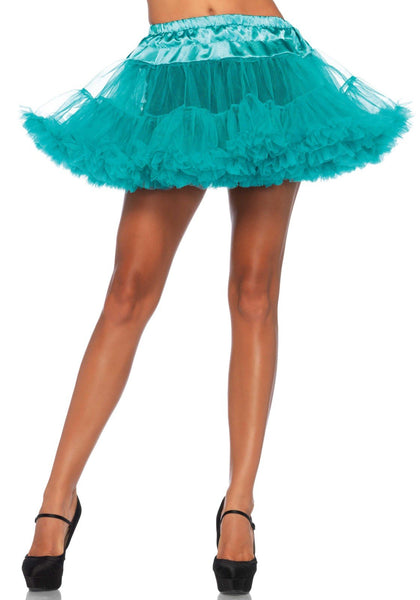 Women's Costume, Teal, One Size Skirt