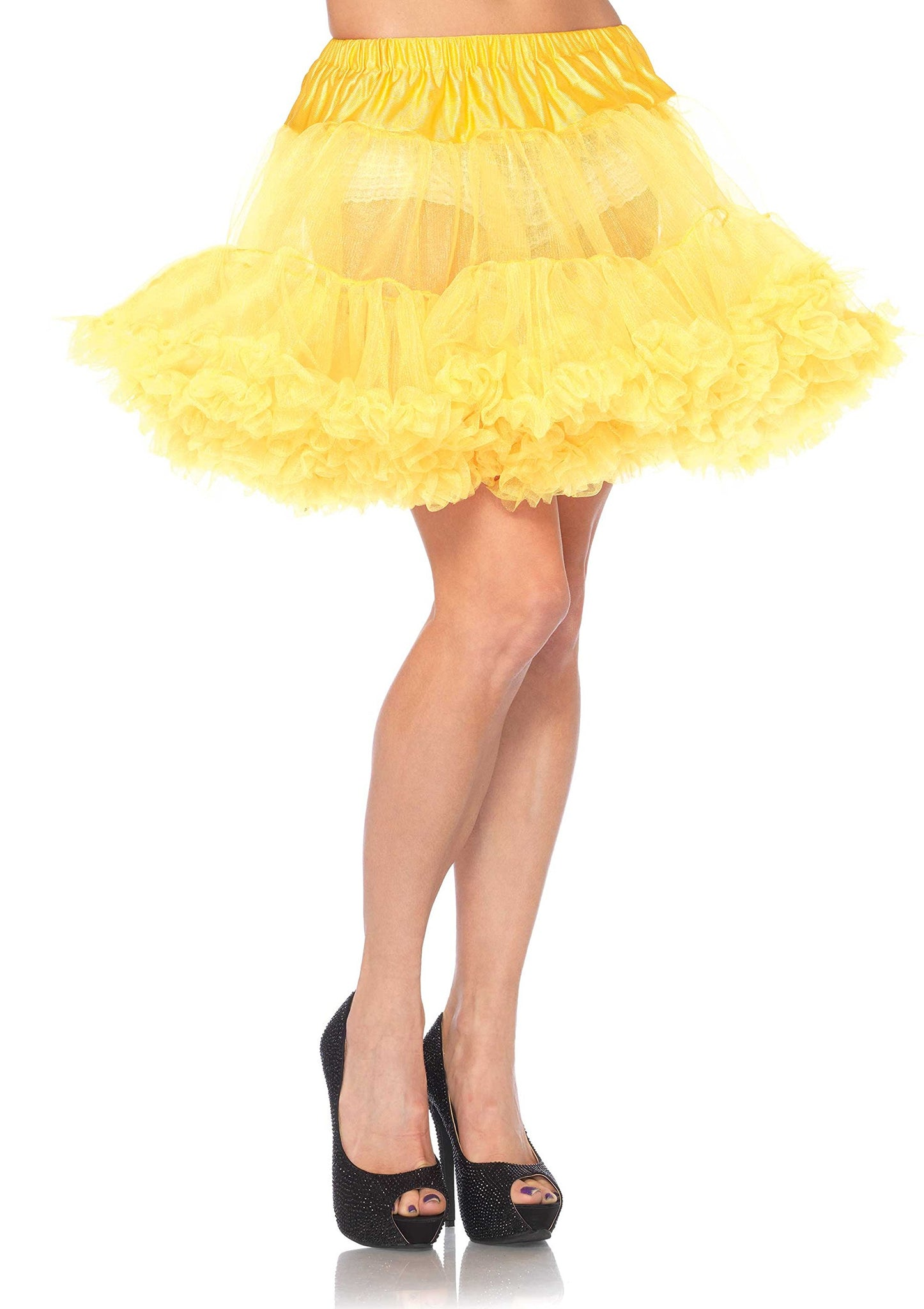 Women's Petticoat, Yellow, One Size Skirt