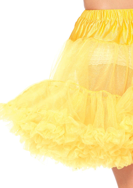 Corset Tutu Skirt-NaughtySmileUSA-Women's Petticoat, Yellow, One Size Skirt