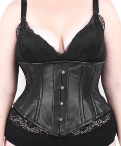 Sanndice Sexy Underbust Leather Corset