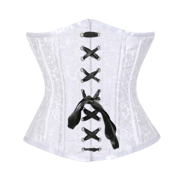 Easy To Wear Front Lace Waist Trainer by Organic Corset USA