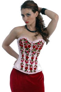 NaughtySmile Overbust Corset For Hourglass Look
