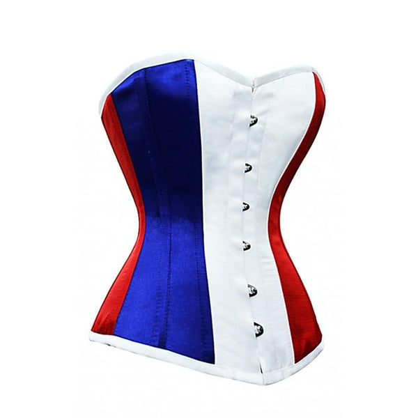 Corset France Flag Overbust Organic