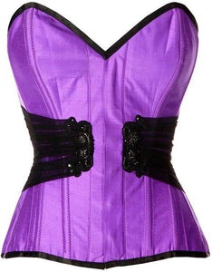 Hamblin Embroidered Overbust Corset