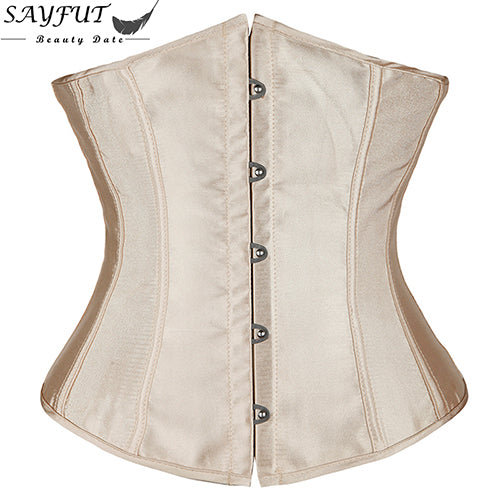 Plus Size 6XL Body Shapewear Fashion Womens Sexy Gothic Clothing Underbust Waist Trainer Lace up Corsets and Bustiers