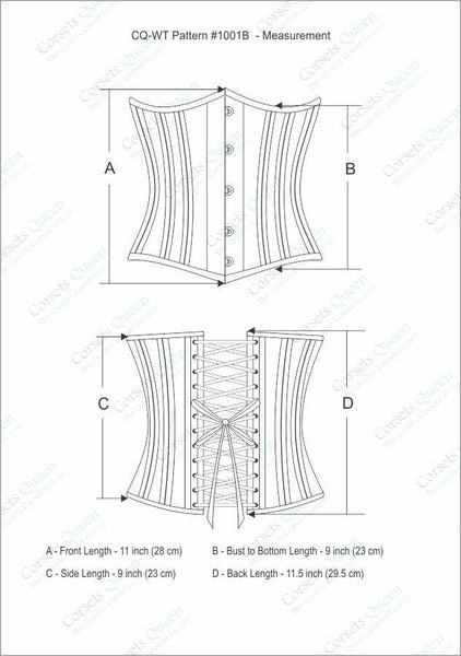Geipel Satin Waist Training Corset