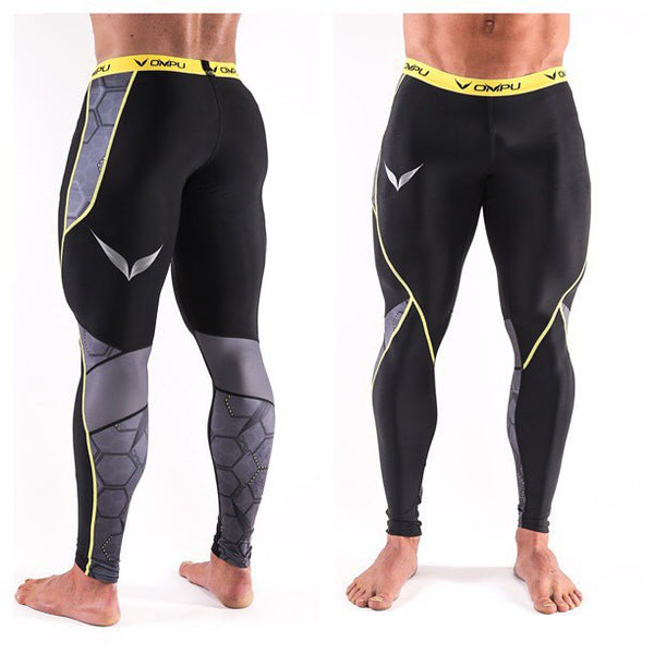 SLEIPNER COMPRESSION TIGHTS (BLACK / GREY)
