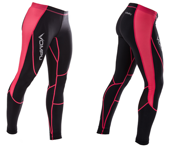 MULTISPORT COMPRESSION TIGHTS PINK