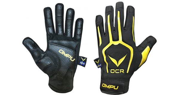 OCR & Outdoor Glove 2.0 - Warm Weather (BLACK/YELLOW)