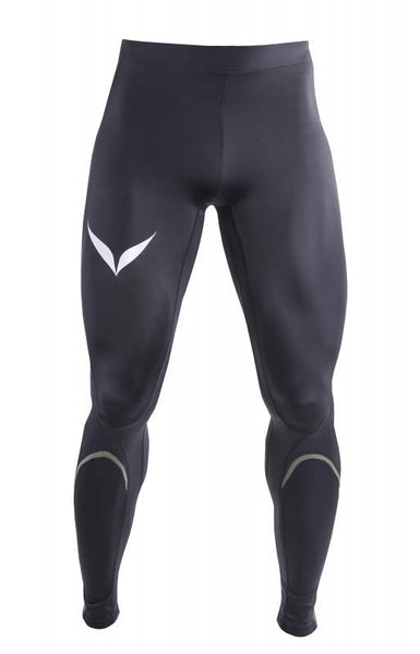 ELITE COMPRESSION MENS TIGHTS (BLACK / GREEN)