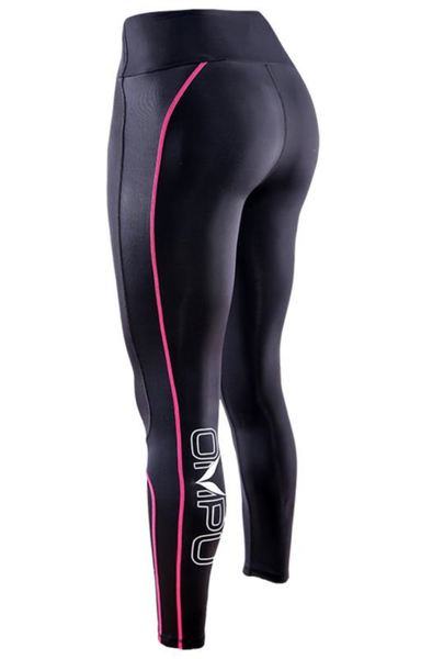 ELITE COMPRESSION TIGHTS (BLACK / PINK)