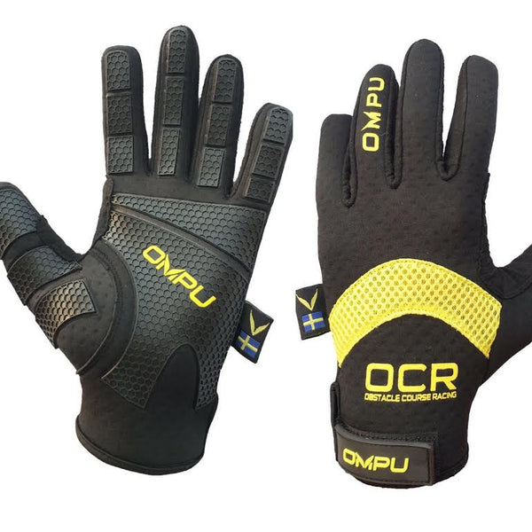 OCR & Outdoor Glove - Cold Weather (BLACK/YELLOW)