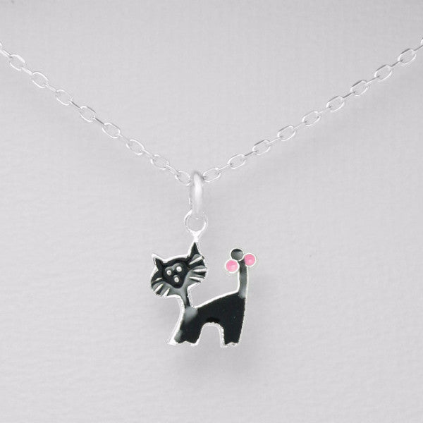 Meow Cuteness - Necklace -  Talkeko Jewelry