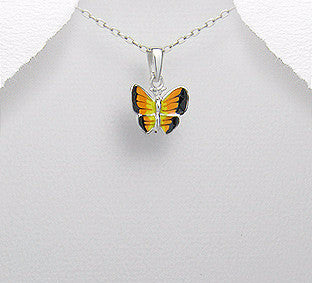 Butterfly Kisses (Pendent) - Necklace -  Talkeko Jewelry