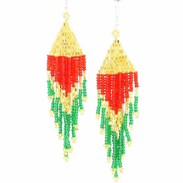 Colorful Flare - Earrings -  Talkeko Jewelry