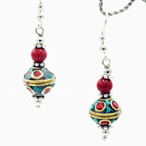 Staring Royal Eyes - Earrings -  Talkeko Jewelry
