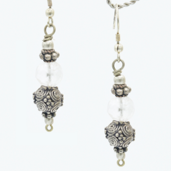 Diamond in the Rough - Earrings -  Talkeko Jewelry