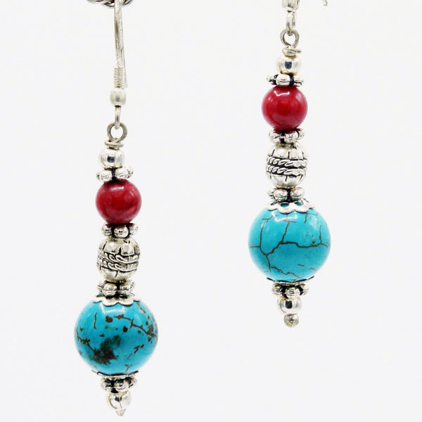 Earthly Mosiac - Earrings -  Talkeko Jewelry