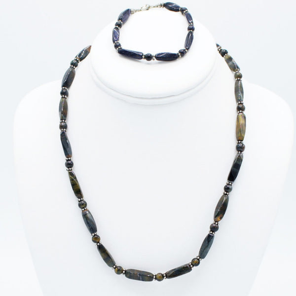 The Perfect Match - Necklace & Bracelet - Set -  Talkeko Jewelry