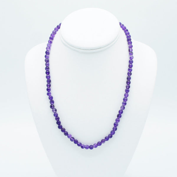 "Purple Strech Love - 9"" - Necklace -  Talkeko Jewelry"
