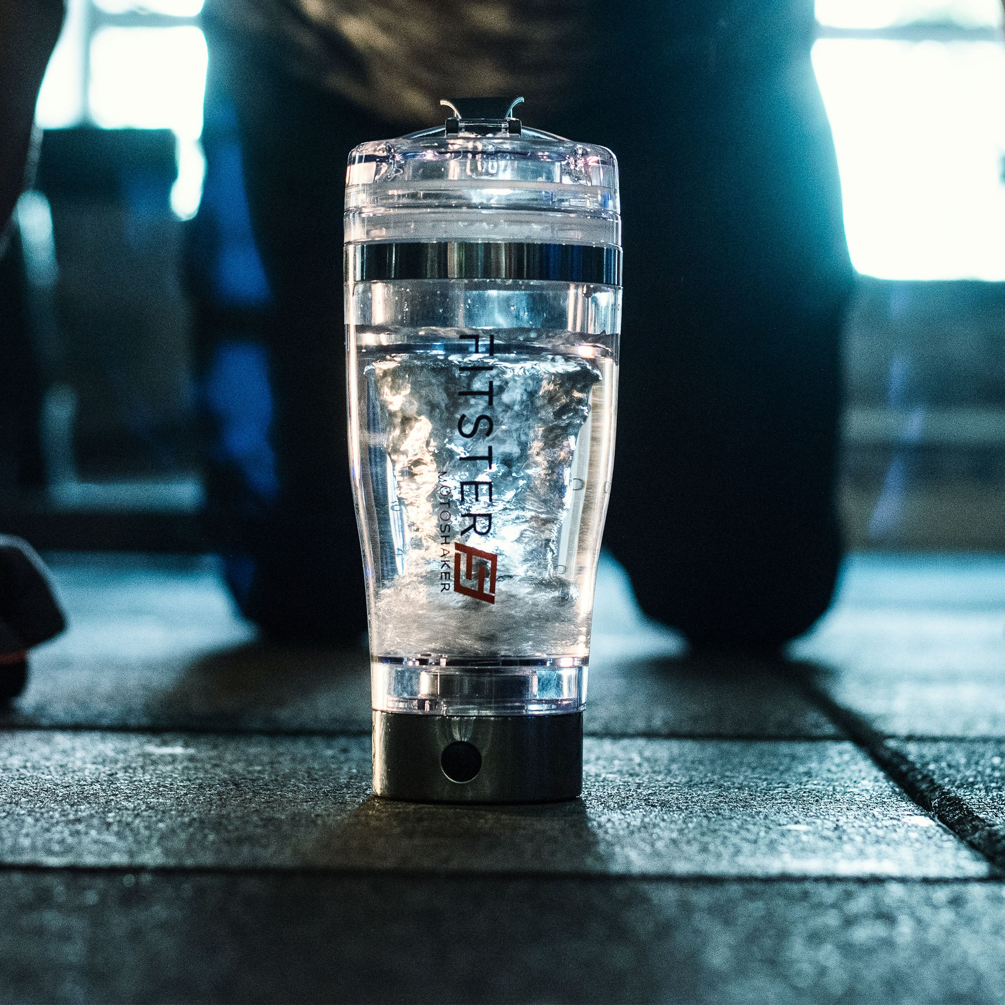Moto Shaker Blender Bottle by Fitster5 with USB Charging