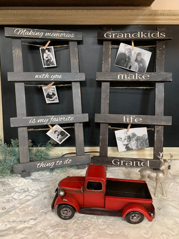 Photo Holder - Grandkids or Making Memories