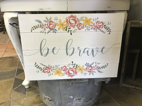 Be Brave Floral Spray