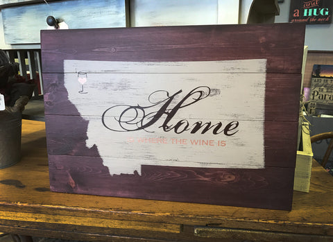MT Home is where the wine is