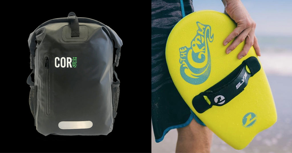 Giveaway Alert!!! COR Surf Waterproof Dry Backpack x Slyde Handboards - Gromboard!