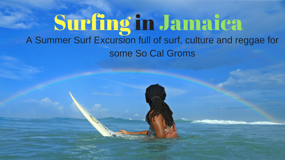 Surfing Jamaica with Surf Photographer Kurt Steinmetz and his Grom Crew!