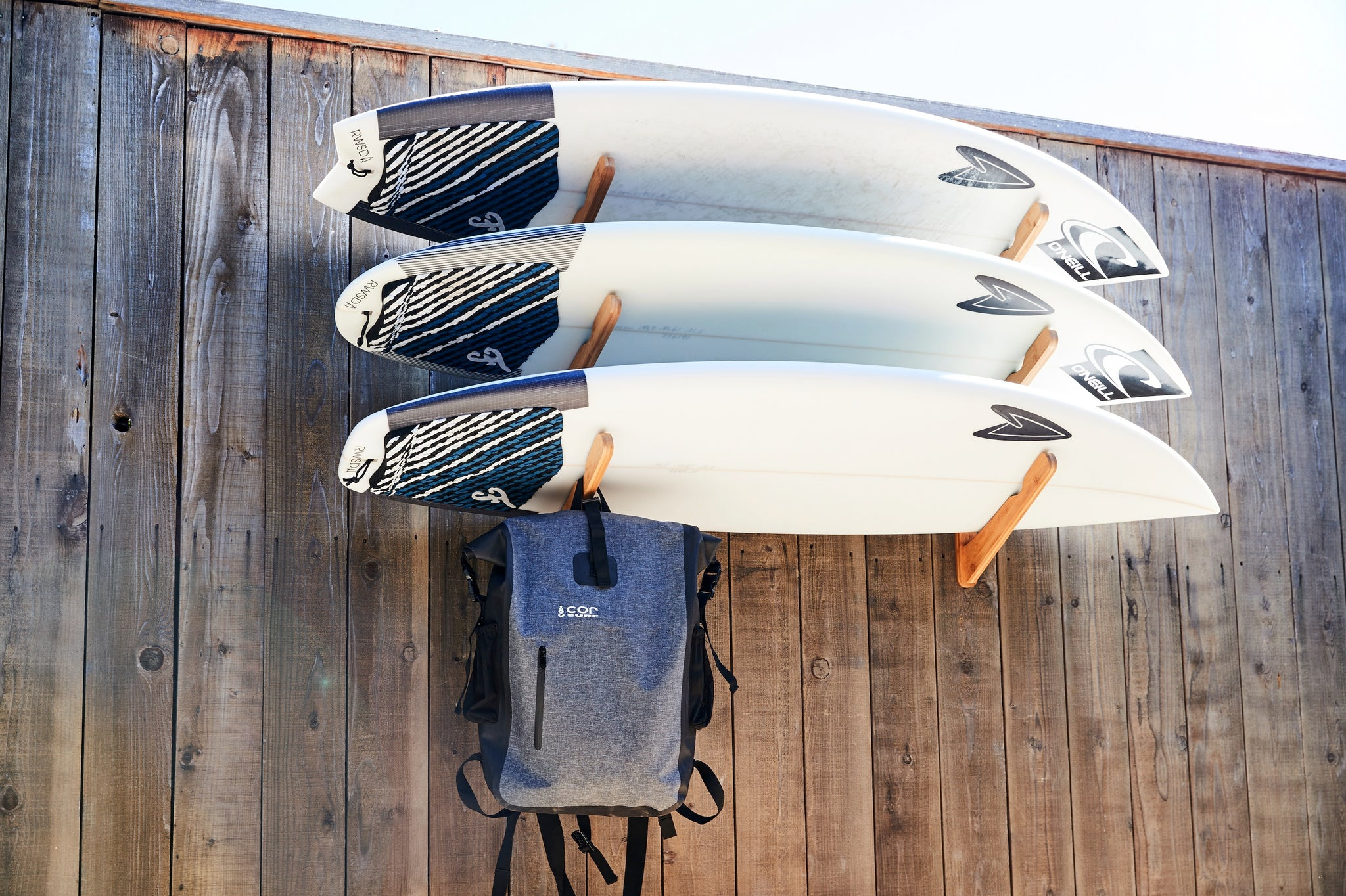 Get your Surfboards Organized with COR Surf and Paddleboard Racks