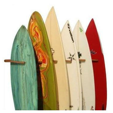 Vertical Storage Surf Rack cor board rack