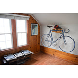 Bamboo Fold-Away Bike Rack