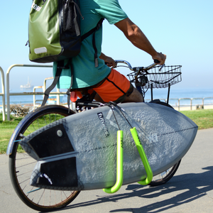 Bicycle Rack for Shortboard and Longboards