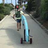 Adjustable Paddle Board Cart Works With Any Sized Sup