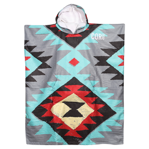 Adult Changing Poncho - Tribal Tech