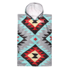 Kids Changing Poncho - Tribal Tech