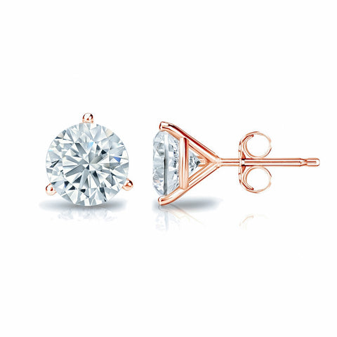 Round Brilliant Diamond Studs
