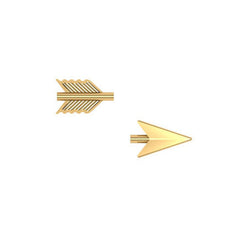 Cupid's Arrow Studs