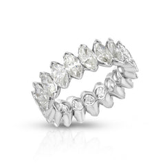 Marquise Eternity Band