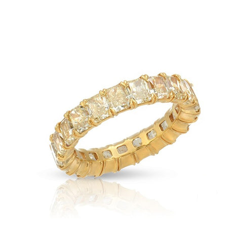 MINI RADIANT YELLOW DIAMOND ETERNITY BAND