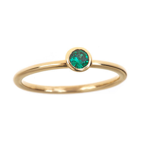 Birthstone Stackable Ring