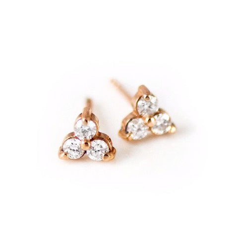 Trio Stud Earrings